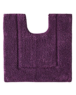 Supersoft Snuggle Bath Mats Plum