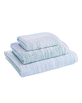Ombre Towel Range Blue