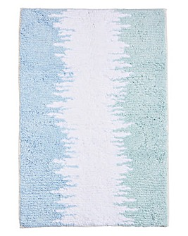 Ombre Bath Mat Blue