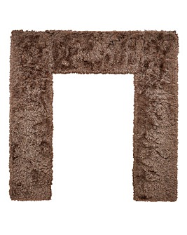 Indulgence Supersoft Shaggy BedFrame Rug