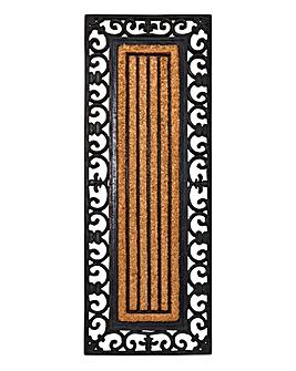 Coir & Rubber Double Door Brush Mat