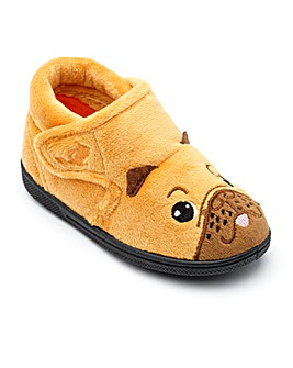 Chipmunks  Pug Slippers