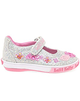 Lelli Kelly Glitter Daisy Dolly Shoes