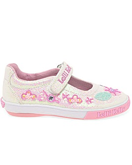 Lelli Kelly Glitter Daisy F Fit Shoes