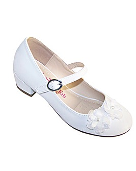 Sparkle Club White Heeled Shoes