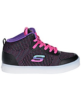 Skechers Energy Lights Knit Glit Trainer