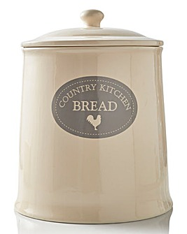 Country Kitchen Bread Jar