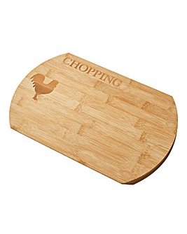Country Kitchen Wooden Chopping Board