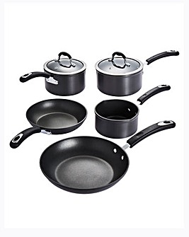Hard Anodised 5 Piece Pan Set