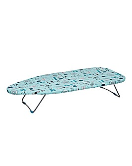 Beldray Table Top Ironing Board - Sewing Print