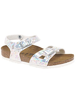 Birkenstock Rio Hologram Girls Sandals