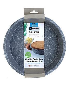 Salter 24cm Marble Round Baking Pan