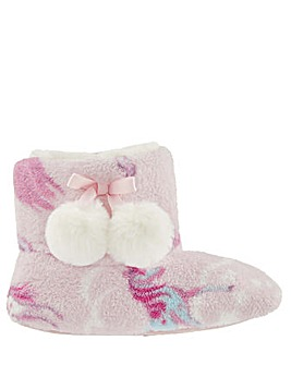 Monsoon Vivianna Unicorn Slipper Boot