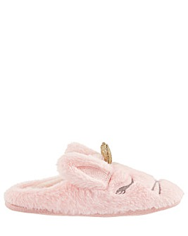 Monsoon Beatrice Bunny Slider Slipper