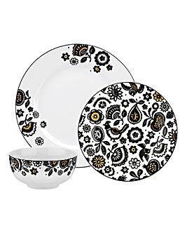 Portmeirion Modern Folk 12pc Dinnerset