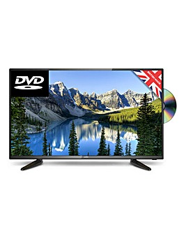 Cello 40in Full HD LED TV with DVD