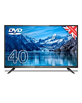 "Cello C4020F 40"" HD LED TV with DVD"