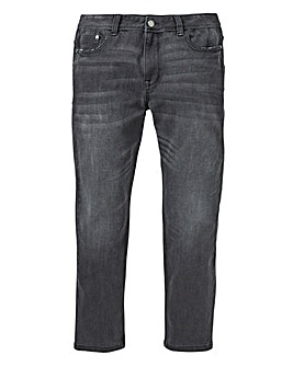 Slim 4 Way Stretch Blackwash Jeans