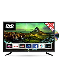 Cello 32in Smart LED TV With DVD