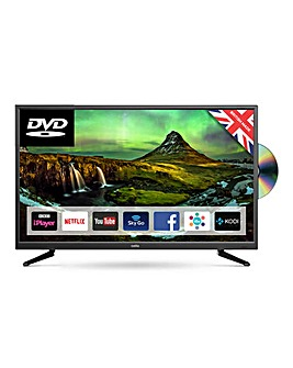 Cello 32in Smart TV With DVD + Install