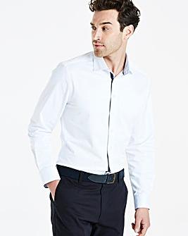 Jacamo Black Label White L/S Shirt L