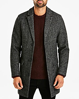 Charcoal Wool Mix Coat