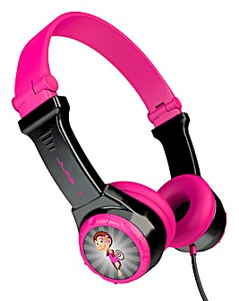 JLab JBuddies Folding Headphones Pink