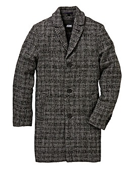 Black Label Charcoal Wool Mix Coat R