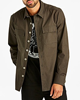 Jacamo Ripstop Overshirt Long