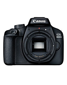 Canon EOS 4000D SLR Black Camera