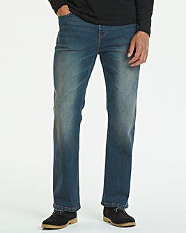 Bootcut Darkwash Jeans 33 in