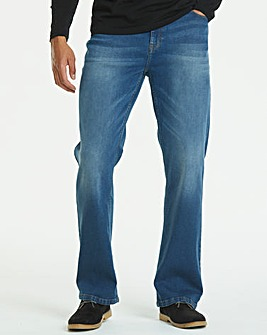 Bootcut Stonewash Jeans 29 in
