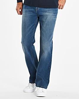 Bootcut Stonewash Jeans 31 in
