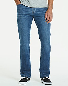 Loose Stonewash Jeans 27 in