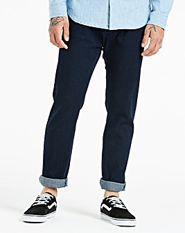 Jacamo Indigo Stretch Slim Jeans 29in