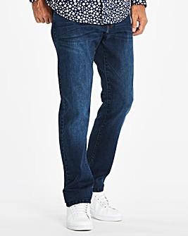 Slim Washed Indigo Jeans 31 in