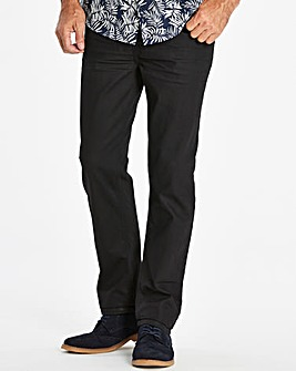 Slim Coated Black Jeans 31 in