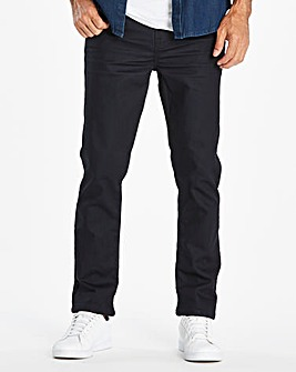 Slim Coated Indigo Jeans 31 in