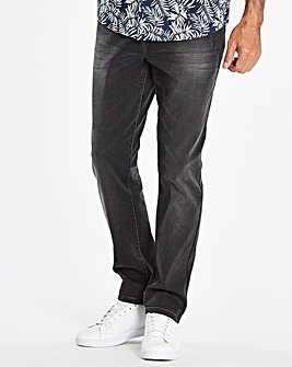 Slim Washed Black Jeans 31 in