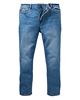 Slim Washed Midwash Jeans