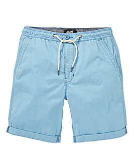 Drawcord Waist Short with Turnups