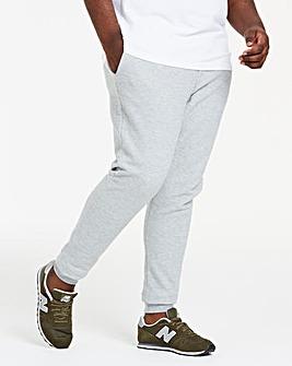 Grey Heavy Weight Waffle Jog Pants 31in