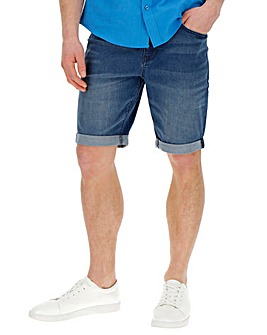 Midwash Denim Shorts