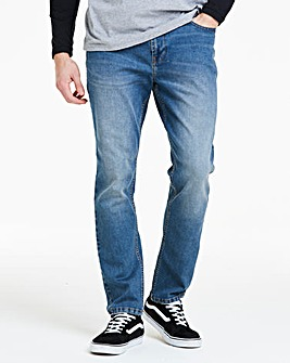 Tapered Midwash Jeans