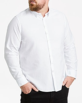 Long Sleeve Smart Textured Shirt Regular