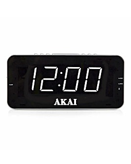 AKAI AM/FM Alarm Clock Radio