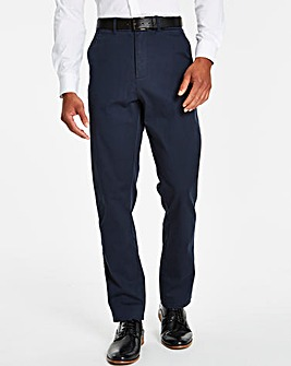 Jacamo Black Label Navy Chinos 29in