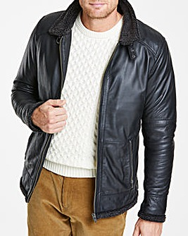 Flintoff By Jacamo Shearling Jacket R