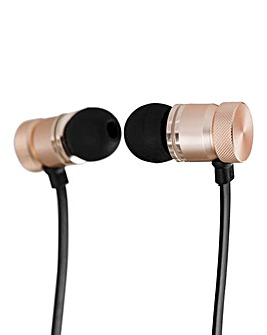 AKAI DYNMX Bluetooth Headphone Rose Gold