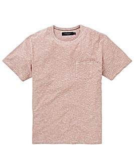 Flintoff By Jacamo Stripe T-Shirt R